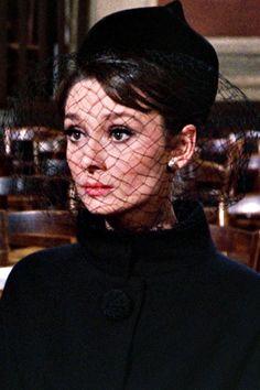 Audrey Hepburn in 'Charade'.