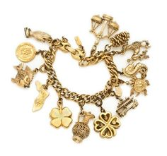 Monet Charm Bracelet on Chairish.com