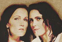 Tarja & Sharon den Adel