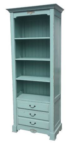 SHABBY CHIC BLUE KITCHEN DRESSER FRENCH FURNITURE | eBay