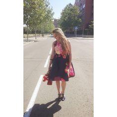 Carol y su mundo!!!: Floral dress!!!