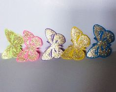 A personal favorite from my Etsy shop https://www.etsy.com/listing/205484894/hand-made-embellishments-butterflies