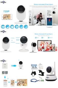 [Visit to Buy] Mini Wifi IP Camera Wireless 720P HD Smart Camera Baby Monitor CCTV Security Camera Home Protection Mobile Remote Cam Hiseeu FH7 #Advertisement