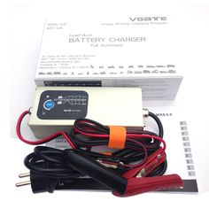 72.90$  Buy here - http://aiena.worlditems.win/all/product.php?id=32794288561 - Vgate MXS 5.0 Smart Lead Acid Battery Charger Fully Automatic 12V 5A with Temperature Compensation Car MXS 5.0