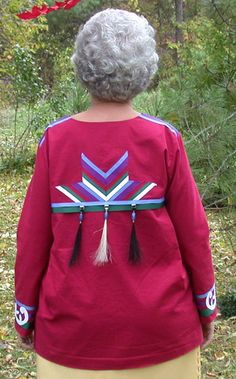 Lois Smith on Making Aboriginal Ribbon Shirts - Quilting Gallery Native American Clothing, Native American Regalia, Native American Design, Native Design, Native American Fashion, Native Fashion, Native Wears, Ribbon Skirts, Native Style