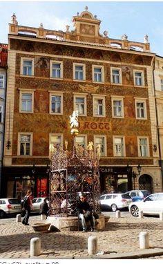 Rott house, Old Town, Prague, Czechia