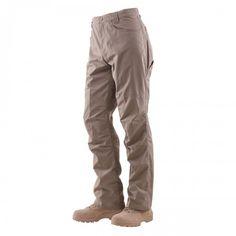 Mens Tru-Spec 24-7 Eclipse Jean Style Tactical Pants, 100% Nylon, Khaki