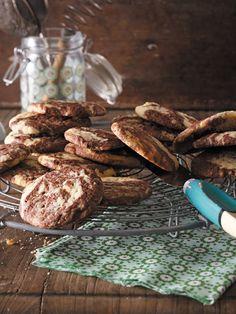 Musterknaben: Black and white cookies