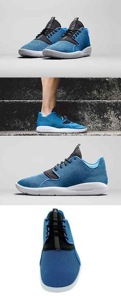 Basketball  Mens Air Jordan Eclipse Fashion Shoes Photo Blue Black-White  Size 10.5 cb9ed7ce0f
