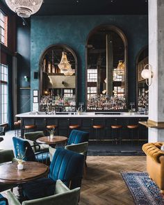 restaurant interieur AD Design Show is almost read - Hotel Lounge, Bar Lounge, Lounge Design, Lounge Decor, Office Lounge, Design Room, Back Bar Design, Lobby Lounge, Ace Hotel