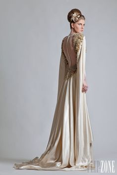 Krikor Jabotian - Couture - 2013 collection - http://en.flip-zone.com/fashion/couture-1/independant-designers/krikor-jabotian-3388