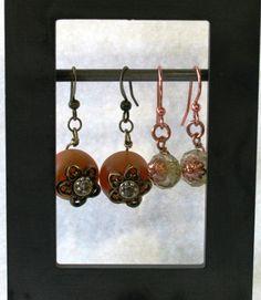 Rondel beads put to good use!     beadhivebeads.com