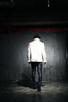 Ivory Belted Jacket