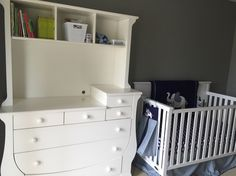 Sneak peek of baby nursery this week! Love the elephants,