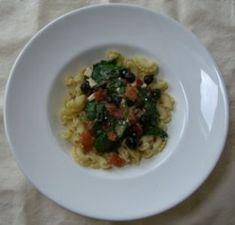 rezepte_kohlenhydrate_pasta_spinat_schafskaese_mittel