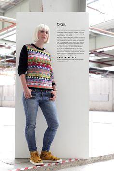 knitID Pullover von Olga van Zeijl  #knitid #pullover #zeijl