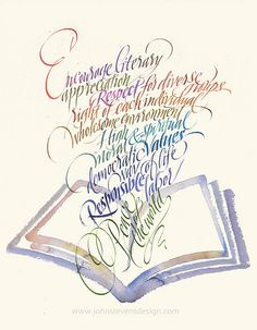 BookIllustration by JSD-calligraphy