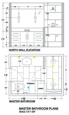 Portland Interior Designer Shows Lighting Plan For Small Bathroom Project
