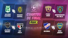 Copa Libertadores: así se jugarán los cuartos de final del torneo. 5/5/16.