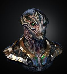 ArtStation - Alien presentation THU/Zbrush summit, david Giraud