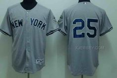 http://www.xjersey.com/yankees-25-mark-teixeira-grey-kids-jersey.html YANKEES 25 MARK TEIXEIRA GREY KIDS JERSEY Only $35.00 , Free Shipping!