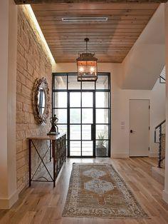 Beautiful Maple hardwood floors in this entryway!  Want remodeling tips and tricks? Visit www.boardwalknorth.com/blog