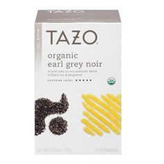 Tazo Organic Earl Grey Noir Black Tea Blend, 20 Filter Bags, 1.76 Oz. >>> To view further for this item, visit the image link. (This is an affiliate link) #BlackTea