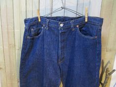Levis 501 Single Stitch Redline Selvedge One Wash 40x32 Tag Size. sold