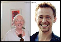 Spitting image. Oh my goodness tom and his mom, adorable!!!!