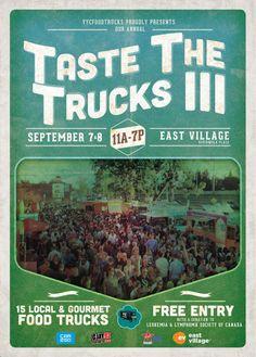 Taste The Trucks III - Food Truck Festival #yyc Food Truck Events, Food Truck Festival, Trucks, Gourmet, Truck