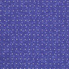 【江戸小紋×ポルカドット ブルー(中川政七商店)】/離れて見ると無地に見える細かい小紋を「江戸小紋」といいます。 その趣向を活かし一見するとポルカドットの生地に見え、目をこらすと透かしの霰小紋が見える奥行きのある生地をつくりました。 #japanesetextiles #textile #patterns