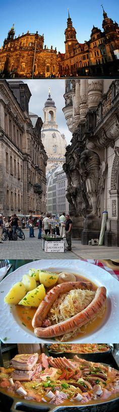 Dresden  Germany & German food
