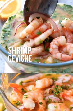 This ceviche-style shrimp cocktail is perfect for New Year's Eve! Fresh and delicious, this gorgeous seafood starter is bursting with flavor. Seafood Appetizers Seafood Appetizers Appetizers Appetizers for a crowd Appetizers parties Appetizers For A Crowd, Seafood Appetizers, Healthy Appetizers, Seafood Recipes, Appetizer Recipes, Healthy Snacks, Dinner Recipes, Fun Easy Recipes, Raw Food Recipes