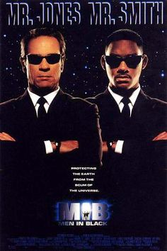 """Men in Black (1997): A great science fiction comedy based on the """"Men in Black"""" comic book series; features numerous NYC landmarks."""