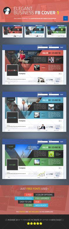 Elegant Business Facebook Cover 1 - Facebook Timeline Covers Social Media