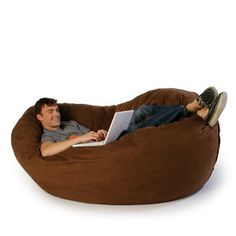 I have always loved beanbags! I'd have to put this on a pedestal, cause i am too old to get myself up off the floor lol!