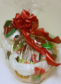 Basket with a Bear - for auction online