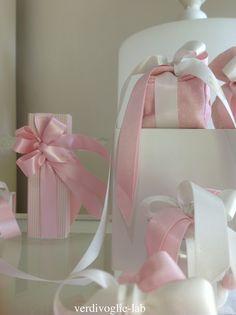 bomboniere rosa verdivoglie
