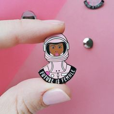 Future is Female Pin - Civil Rights Movement Pin - Feminism - Female Empowerment - Woman's March Pin - Girlpower Sassy Girl, Babe, She Is Fierce, Hard Enamel Pin, Pin And Patches, Feeling Special, Civil Rights, Women Empowerment, Feminism