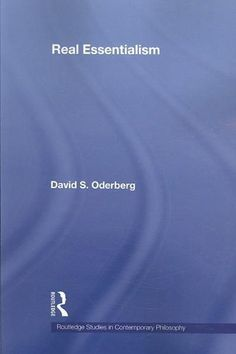 Real Essentialism (Routledge Studies in Contemporary Philosophy): Real Essentialism
