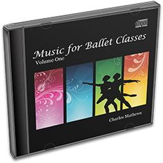 Music for Ballet Classes Volume 1 by Charles Mathews.  Each compilation includes a selection of musical pieces in a variety of styles and tempi, all featuring the sound of a Yamaha C3 Neo grand piano. Every track has been tailored to last for an even number of musical counts, and each track starts with a four bar introduction. Exercises at the barre are repeated on the following track for ease of running.