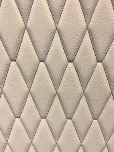 Individual Stitching on a leather seat cover Upholstery Fabric For Chairs, Car Upholstery, Bed Headboard Design, Headboards For Beds, Marathon Coach, Leather Seat Covers, Custom Car Interior, Warwick Fabrics, Bowrider
