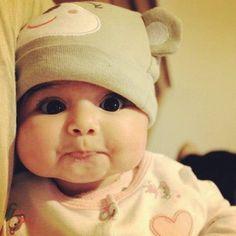 Those cheeks!