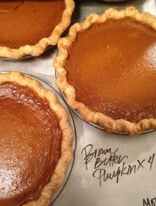 "Brown Butter Pumpkin Pies from ""Four and Twenty Blackbirds"" in Brooklyn, New York are perfect for Thanksgiving!"