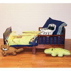 One Grace Place Jazzie Jungle Boy Toddler Set 4 Piece - Multicolor (Toddler)