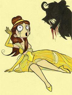 Tim Burton-inspired Belle ∞