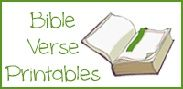 Free Bible Verse Printables and Resources for preschool age kids