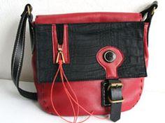 Handtasche mit Wechseldeckel