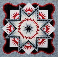 Glacier Star ~Quiltworx.com, made by Certified Instructor Josephine Keasler