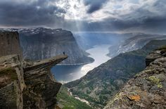 Troll's tongue; Norway *** on the top of the world